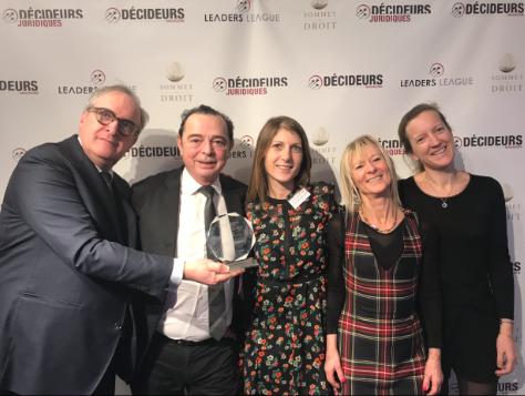 Trophées du droit 2019 Alain Bensoussan Avocats Lexing