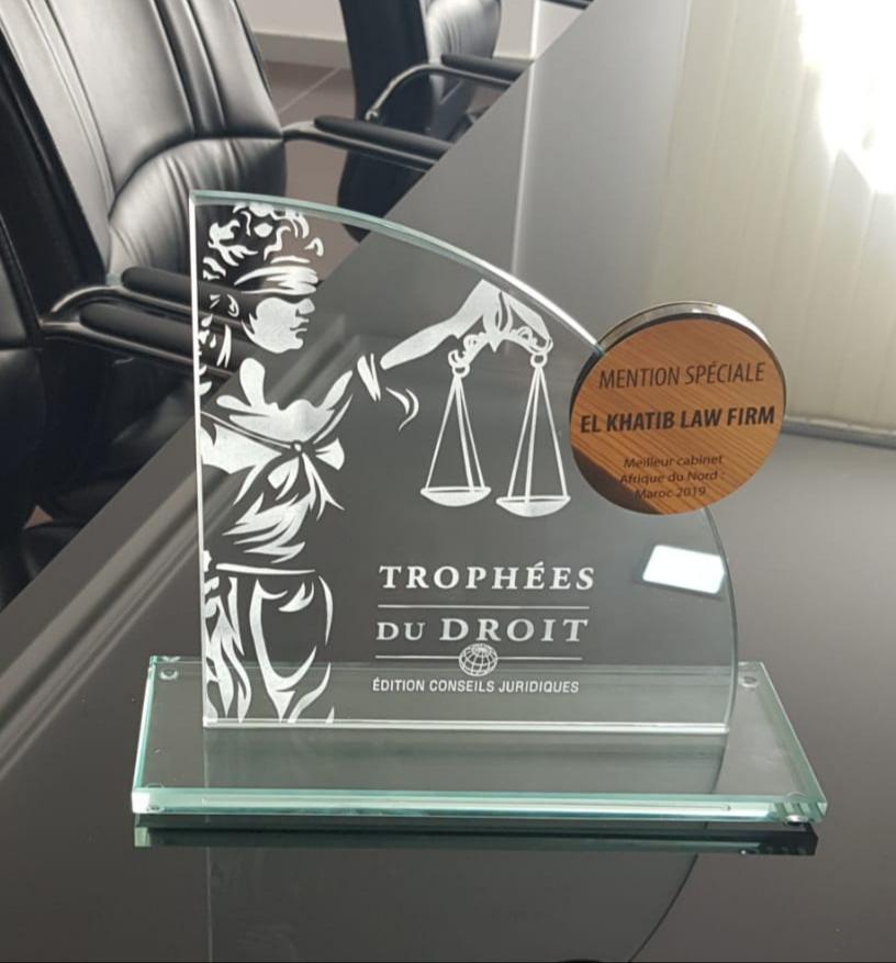 Trophées du droit 2019 Ek Khatib Law Firm