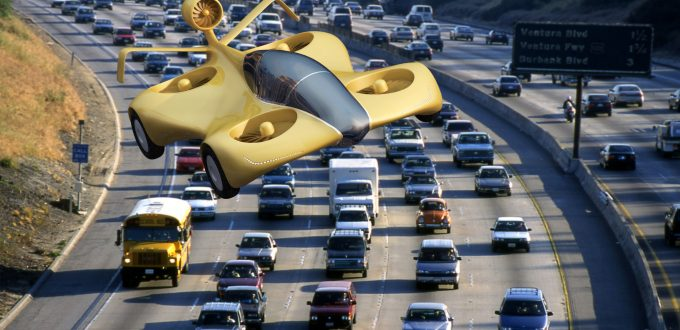 Air vehicle _ concept flying car